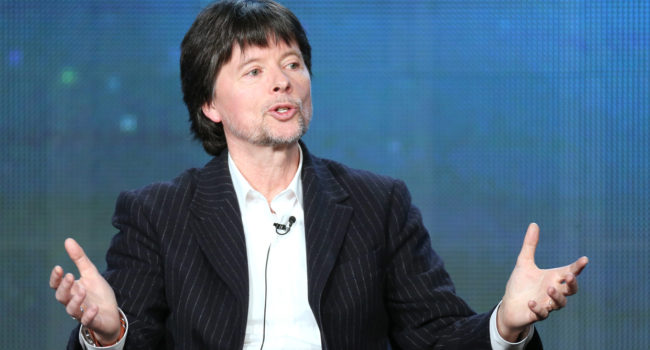 PASADENA, CA - JANUARY 20:  Filmmaker Ken Burns speaks onstage during the 'Ken Burns's The Address' panel discussion at the PBS portion of the 2014 Winter Television Critics Association tour at Langham Hotel on January 20, 2014 in Pasadena, California.  (Photo by Frederick M. Brown/Getty Images)